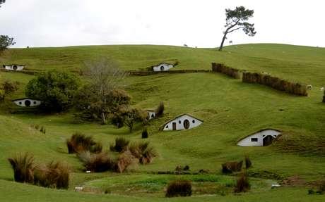 """Locação usada em """"Senhor dos Anéis"""" em  Matamata, na Nova Zelândia, em foto de setembro de 2007 AAP Image/Tracey Nearmy/via REUTERS"""