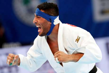 Judoca Saeid Mollaei durante campeonato em Tóquio 28/8/2019 REUTERS/Kim Kyung-Hoon