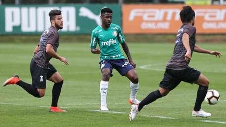 Ramires assinou por quatro temporadas com o Palmeiras (Foto: Cesar Greco/Palmeiras)
