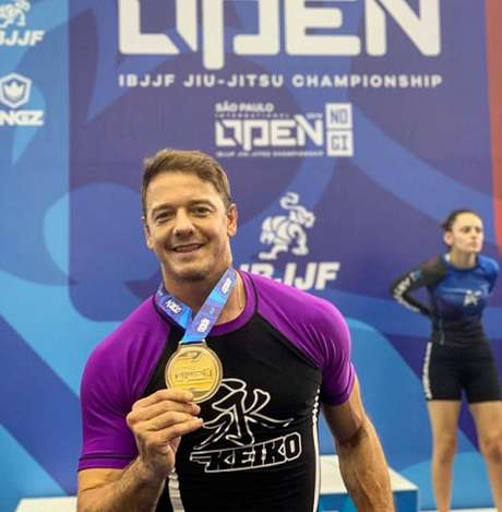 Rogério Padovan faturou duas medalhas na disputa do São Paulo Open (Foto: Reprodução/Instagram)