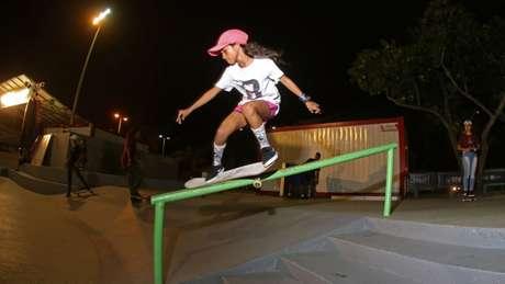 Rayssa Leal, 11 anos, segunda colocada no ranking olímpico de skate street (Foto:Julio Detefon)