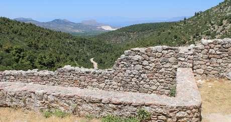 A cidade perdida de Tenea foi descoberta em outubro passado no Peloponeso, na Grécia