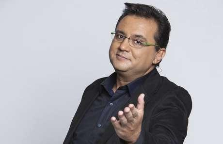O apresentadorGeraldo Luís.