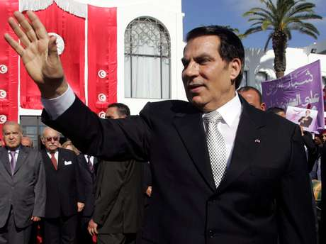 Presidente deposto da Tunísia, Zine al-Abidine Ben Ali, que morreu nesta quinta-feira 12/11/2009 REUTERS/Zoubeir Souissi