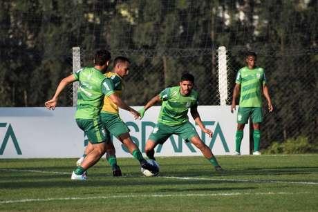 América-MG tenta dar sequência à reação na Série B do Brasileirão (Foto: João Zebral/América)