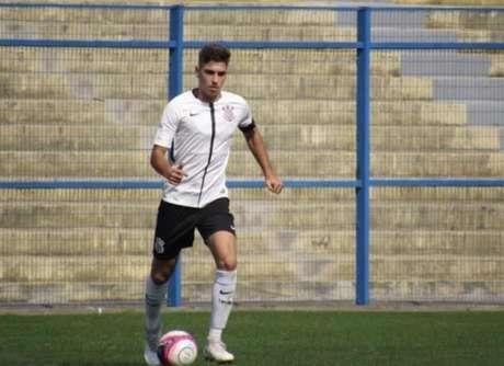 Henrique Luro é um dos reforços para a Copa São Paulo de Futebol Júnior (Foto: Divulgação/Corinthians)