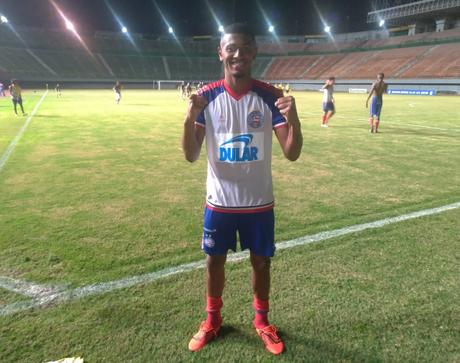 Após duas derrotas, o Bahia voltou a vencer no Campeonato Brasileiro sub-20 (Foto: Reprodução/ECB)