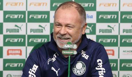 Mano Menezes ainda não decidiu qual jogador substituirá Dudu contra o Fortaleza (Foto: Palmeiras/Divulgação)