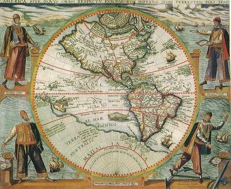 A exploração do Pacífico por parte de Magalhães permitiu somar 10 mil quilômetros de circunferência aos mapas do mundo daquela época
