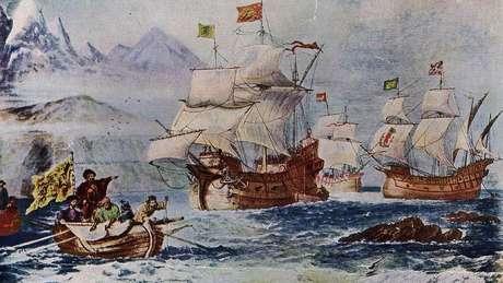 Durante a grande aventura da primeira volta ao mundo, os europeus se depararam com animais e plantas que eram uma verdadeira novidade para eles