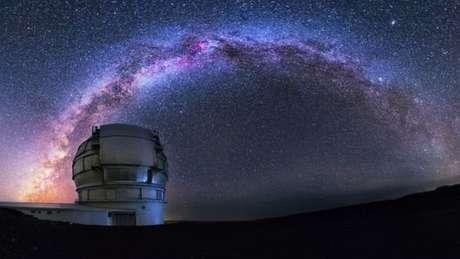 O primeiro espectro do cometa foi obtido por pesquisadores na Espanha por meio do Gran Telescopio Canarias (GTC).
