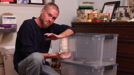 Tim Friede diz que escapou da morte diversas vezes