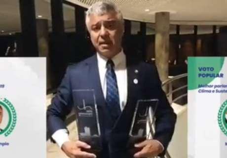 Major Olimpio, um dos vencedores do Prêmio Congresso em Foco 2019