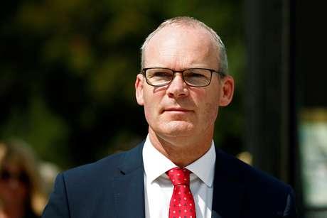 Ministro das Relações Exteriores irlandês, Simon Coveney 28/08/2019 REUTERS/Benoit Tessier