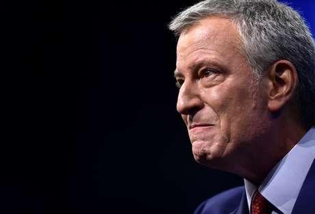 Prefeito de Nova York, Bill de Blasio 07/09/2019 REUTERS/Gretchen Ertl