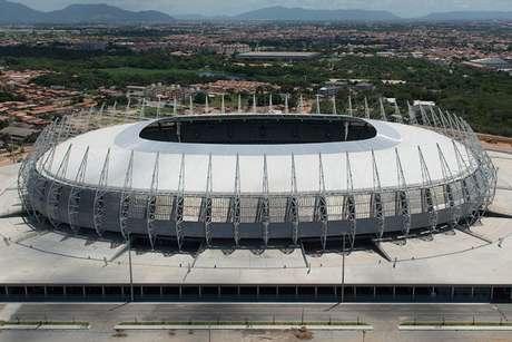 Arena Castelão receberá o jogo entre Fortaleza e Palmeiras no domingo (Foto: Yasuyoshi Chiba/AFP)