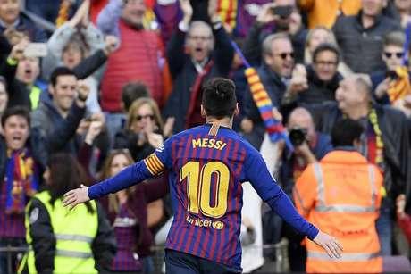 Messi será titular contra o Granada após recuperação de lesão na panturrilha (Foto: AFP)