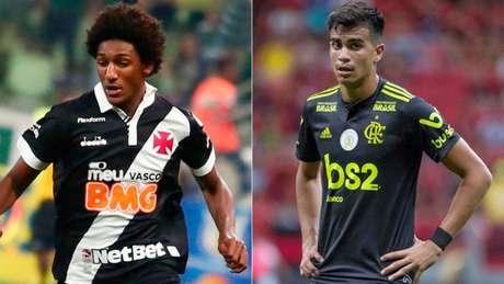 Jogadores tem atuado nas equipes principais de Vasco e Flamengo (Fotos: Divulgação)