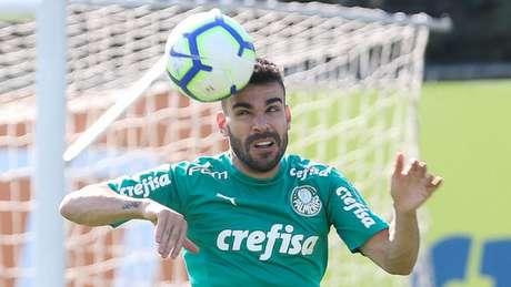 Com cinco gols, Bruno Henrique divide com Dudu a artilharia do clube no Brasileiro (Agência Palmeiras/Divulgação)