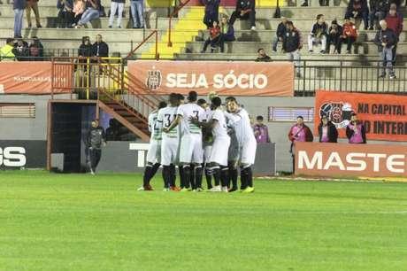 O Figueirense vive uma crise extracampo (Foto: Patrick Floriani/FFC)
