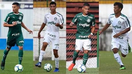 O Palmeiras é o clube com mais representantes na Seleção sub-17 (Foto: Fábio Menotti/Ag. Palmeiras/Divulgação)
