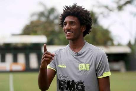 Talles Magno é um dos principais jogadores do Vaco (Foto: Rafael Ribeiro/CRVG)