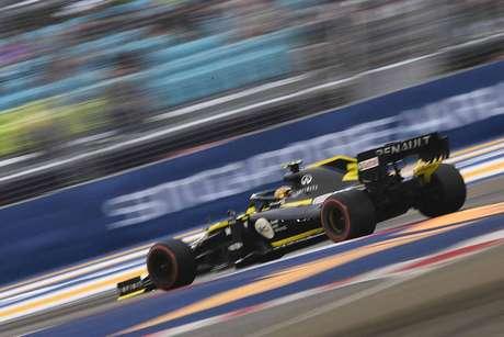 Hulkenberg satisfeito com o desempenho da Renault na qualificação para o GP de Singapura