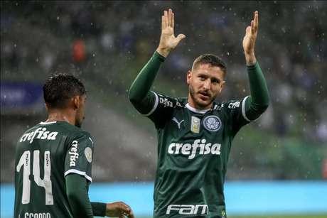 No primeiro turno, o Palmeiras fez 4 a 0 sobre o Fortaleza, no Allianz Parque, com dois gols de Zé Rafael (Flávio Hopp)