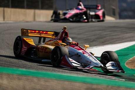 Hunter-Reay lidera o segundo treino da decisão da IndyCar em Laguna Seca