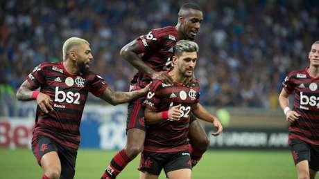 Arrascaeta definiu a vitória sobre o Cruzeiro (Alexandre Vidal/Flamengo)