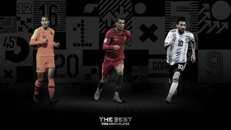 Virgil Van Dijk, Cristiano Ronaldo e Messi concorrem ao prêmio.