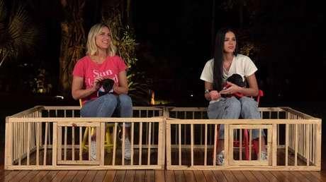 A atrizes Giovanna Ewbank e Bruna Marquezine.