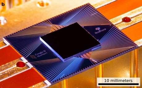 Chip quântico do Google que teria atingido feito histórico