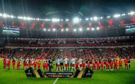 Flamengo e Inter se enfrentaram recentemente pelas quartas da Libertadores (Foto: A. Vidal & M. Cortes / CRF)