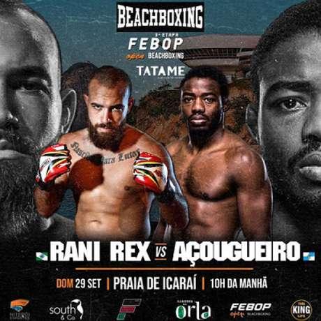 Fernando Açougueiro, ex-UFC, vai entrar em ação pelo BeachBoxing no próximo fim de semana (Foto: Divulgação)