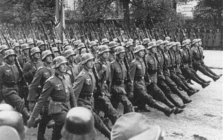 Desfile da Wehrmacht, 1939.