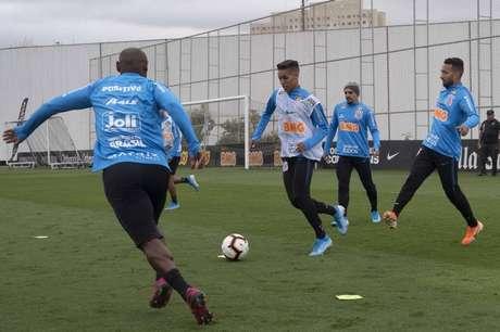 Corinthians se prepara para jogo importante pela Sul-Americana (Foto: Daniel Augusto Jr. / Agência Corinthians)