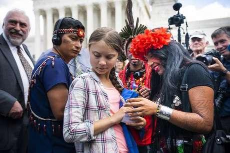 Greta Thunberg lidera movimento global de estudantes ambientalistas