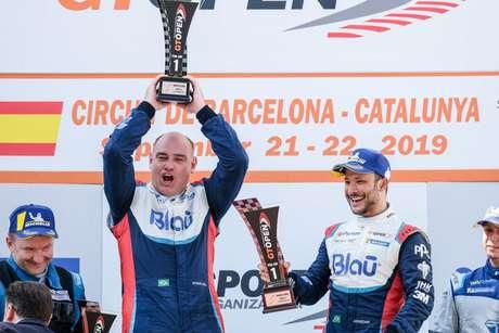 Allam Khodair e Marcelo Hahn conquistam a primeira vitória com a McLaren 720S no GT Open
