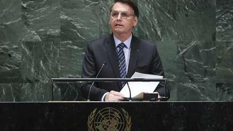 Em sua estreia na Assembleia-Geral da ONU, Bolsonaro criticou países como Cuba e Venezuela e defendeu a soberania do Brasil sobre a Amazônia
