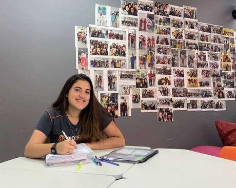 Estudante Rafaela Siqueira Ciaccio, do Colégio Rio Branco, sonha com Engenharia