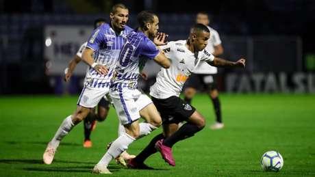 A noite não foi de grande atuação do Galo, mesmo com o time reserva em campo -(Bruno Cantini / Atlético)