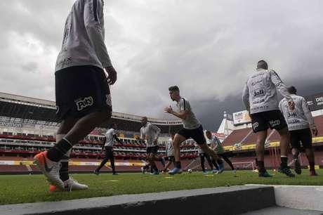 O Corinthians terá de superar os 2.850 metros de altitude (Foto: Daniel Augusto Jr. / Ag. Corinthians)