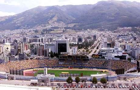 Estádio Olímpico Atahualpa tem capacidade para quase 40 mil pessoas (Foto: Divulgação/Conmebol)