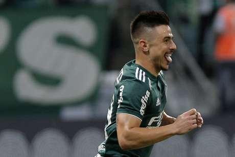 O atacante Wilian, do Palmeiras