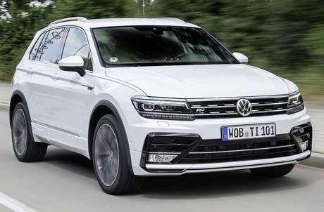 Volkswagen Tiguan, o carros mais vendido do líder mundial.