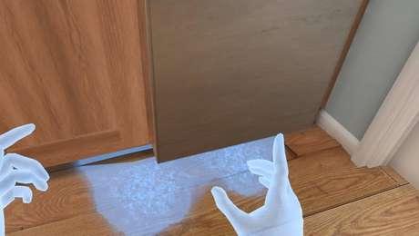 Em teste feito pelo 'Estado', usuário devia apontar, com as mãos, se poça d'água deveria ser apenas limpa ou era causada por problema como infiltração ou vazamento
