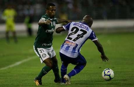 Com reservas como Carlos Eduardo, Palmeiras ficou no 1 a 1 diante do CSA, em maio (Cesar Greco/Agência Palmeiras)
