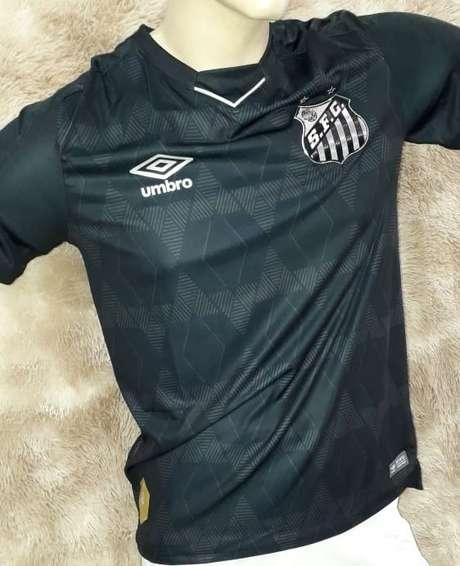 Vaza o novo uniforme 3 do Santos (Reprodução)