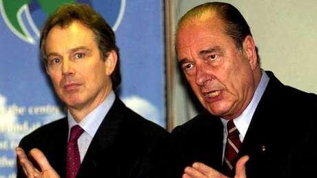 Entente Cordiale? Chirac e Blair eram desafetos públicos